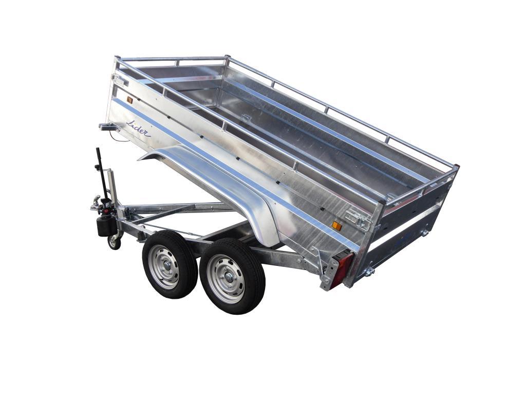 benne robust lider ptac 1500kg 2 essieux frein s. Black Bedroom Furniture Sets. Home Design Ideas