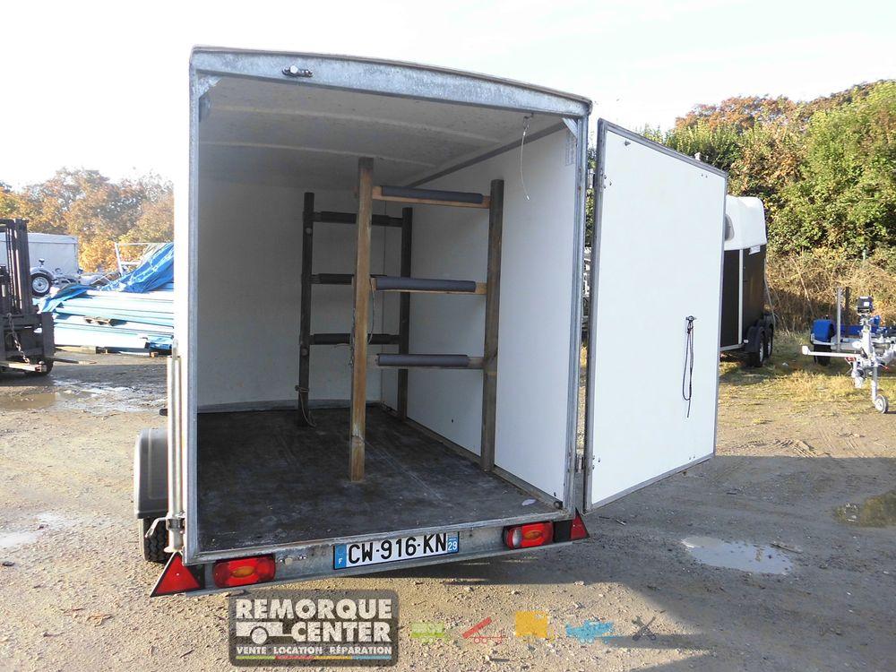 d p t vente remorque fourgon debon c300 750 kg frein e 300 x 155 cm dv 05 dv 05. Black Bedroom Furniture Sets. Home Design Ideas