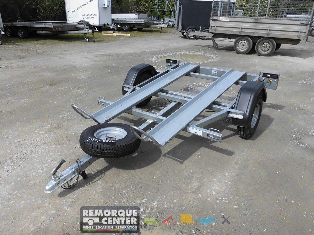remorque moto 2 rails occasion