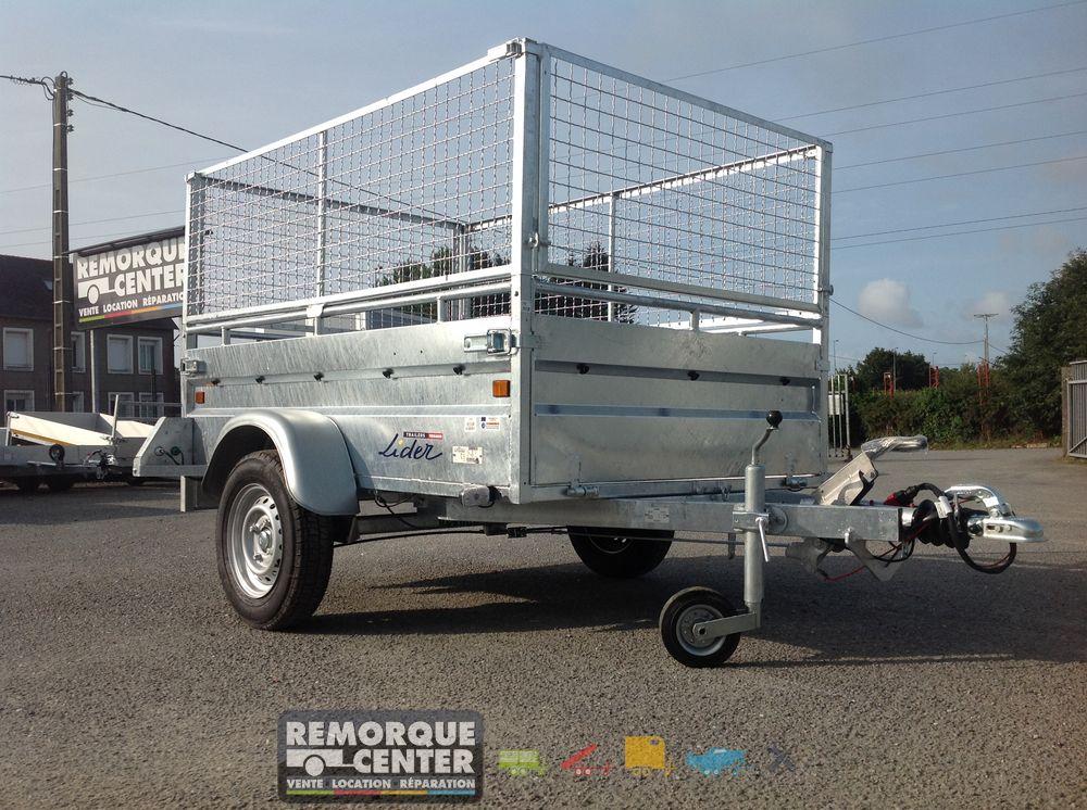 remorque lider robust frein ptac 750 kg 200 x 134. Black Bedroom Furniture Sets. Home Design Ideas