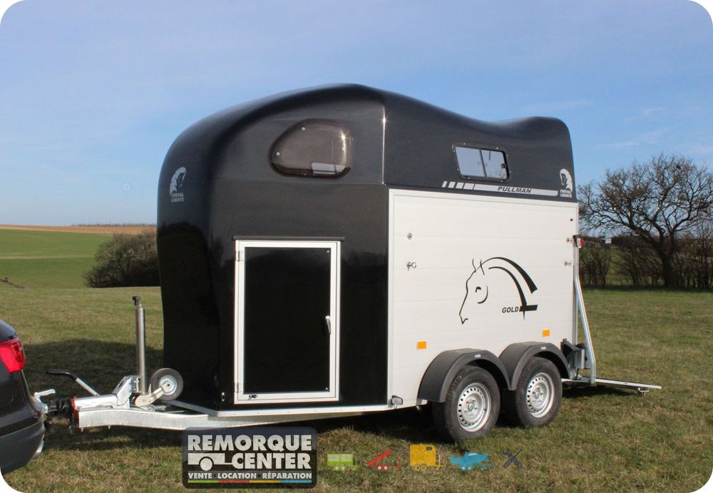 van chevaux gold ii 2 essieux 2 places ptac 2000 kg remorque center. Black Bedroom Furniture Sets. Home Design Ideas
